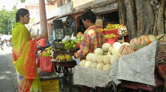 インドの街角でのひとこま