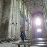 修道院内もとても美しいモンサンミッシェル