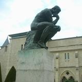 ロダン美術館の考える人