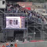 順当にP2のセッションを終える2010 F1 モナコGP
