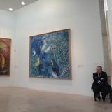 シャガールの大きな作品を間近に見れるニースのシャガール美術館