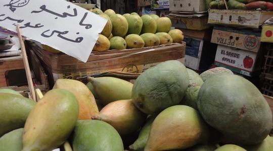 エジプトのマンゴーはやばいくらいうまい