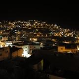 宿から見るペトラの街の夜景はすばらしい