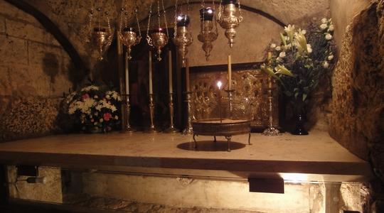 聖母マリアの眠るマリアの墓の教会