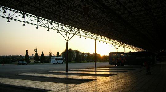翌朝着いたマラテヤのバスターミナル