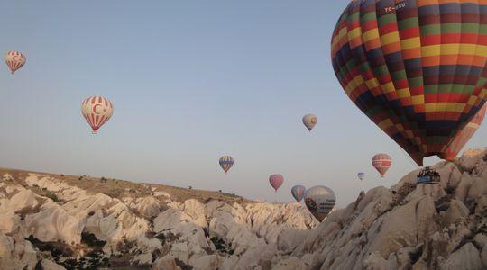 カッパドキアの気球ツアー 素晴らしい景色