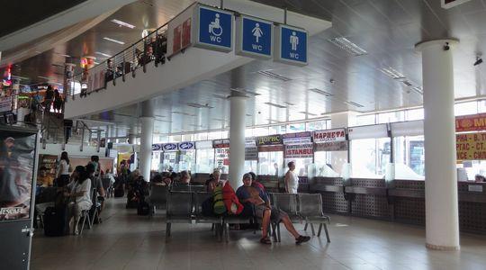 ソフィアのバスターミナル