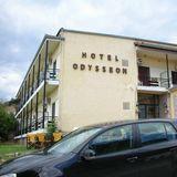 コストパフォーマンスの高いカランバカの安宿 Hotel Odysseon