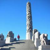 まさに圧巻の彫刻群 ヴィーゲラン公園