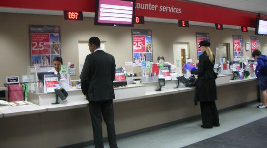 すごく効率的なロンドンの郵便局