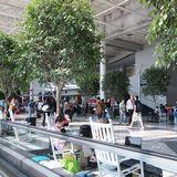ダラスからニューヨークへの経由地シャーロットダグラス空港。外はUS Airwaysばっかり