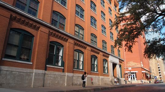 ダラスシックスフロアミュージアム。このビルの6階からジョン・F・ケネディは狙撃された