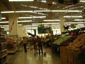 メキシコシティの巨大スーパー、ウォルマート