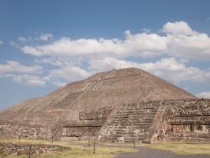 テオティワカンの太陽のピラミッド