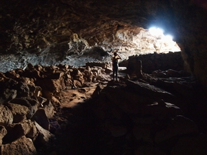 不気味なアナ・テ・パフの洞窟