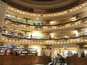 El Ateneoの美しい回廊