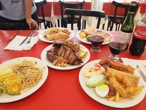 ブエノスアイレスで肉と中華の食べ放題
