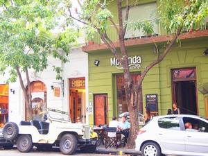 ブエノスアイレスのパレルモ地区にはおしゃれカフェが多い