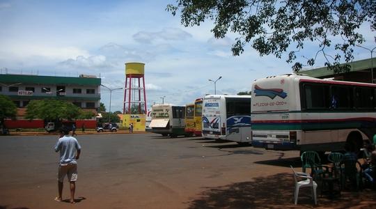 ブエノスアイレスからの夜行バスでエンカルナシオンへ到着!
