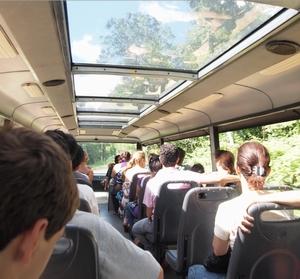 無料のバスでほとんど歩かないので楽チンのブラジル側イグアスの滝