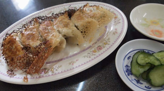 イグアス移住地の日曜日はラーメン。餃子もヤバイ