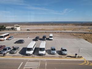 バルデス半島の入り口にある展望台からの眺め。その2