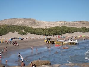 バルデス半島のただのビーチ プンタ・ピラミデ