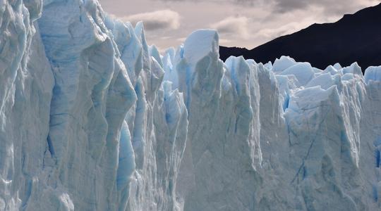 ペリトモレノ氷河のまさしくBig Ice