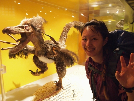サンティアゴの国立自然史博物館の特別展