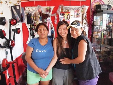 ペルーのリマで髪のカラー!気になる髪の色は・・こんな感じ!
