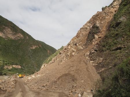 リマからクスコへの道のりはかなりサバイバル。夜行バスは土砂崩れに時々阻まれる