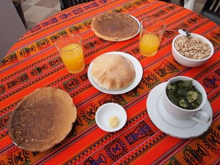 ペルーのクスコのおすすめ安宿「サマナパタⅡ」。朝食とWiFiが付いて最安
