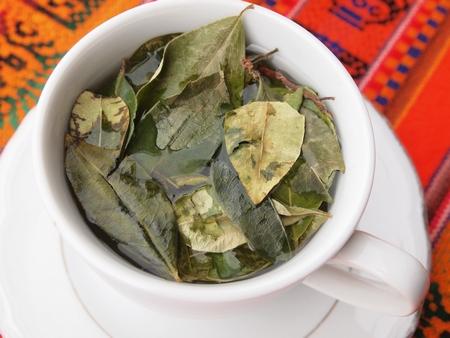 クスコの安宿「サマナパタⅡ」には高山病にも効くコカ茶も用意されている