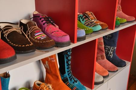 クスコのオーダーメイド靴。選ぶのは結構難しい。。