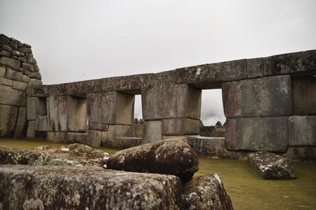 マチュピチュのメインの神殿あたり