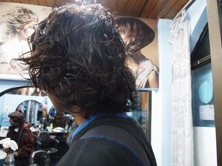 ボリビアといえばボリパー。ついにボリパーが完成。後ろはこんな感じ