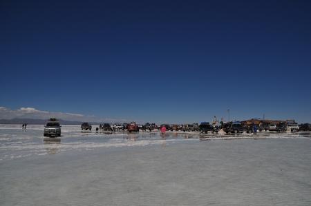 ウユニ塩湖の塩のホテル「プラヤ・ブランカ」へ到着!