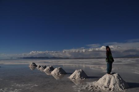 世界一の絶景ウユニの写真その13