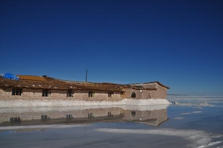 ウユニ塩湖の塩のホテル「プラヤ・ブランカ」のクオリティは残念ながら低い
