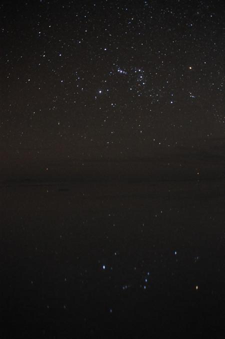 世界一の絶景ウユニの宇宙写真その4