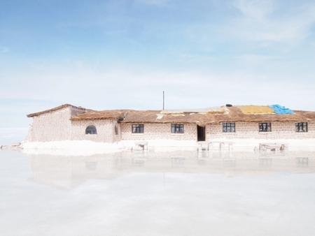 ウユニ塩湖の塩のホテル「プラヤブランカ」にいる時間も残り僅かになってきた