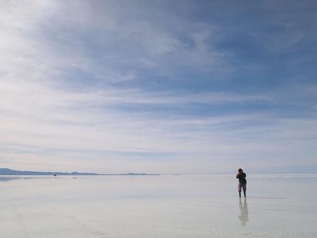 ウユニ塩湖に滞在できる時間もあとちょっと。名残惜しい。その2