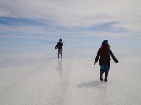 ウユニ塩湖に滞在できる時間もあとちょっと。名残惜しい。その3