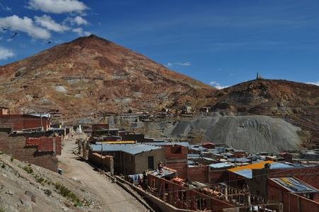 ポトシの鉱山セロ・リコへ到着