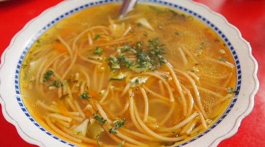 ボリビアのスープ