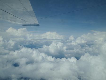ついに雲の上へ